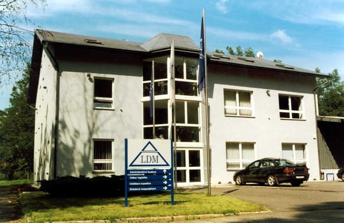 Management building used until the end of year 2001
